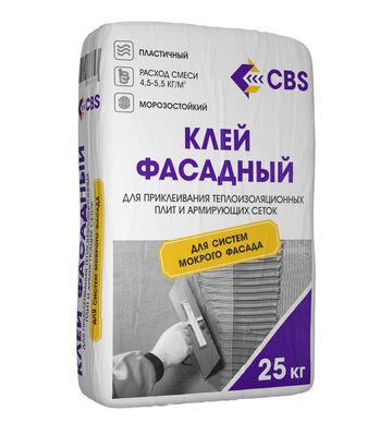Клей для мин.ваты CBS «Фасадный»ЗИМНИЙ до -10 ,25 кг