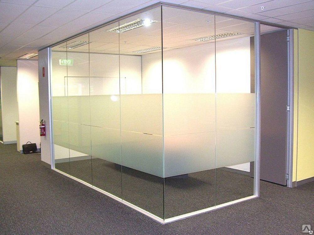 Для неё перегородки офисные купить стекло